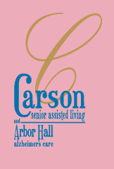 Carson Senior Assisted Living and Arbor hall alzheimer's care